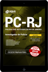 Download Apostila PC-RJ - Investigador Policial (PDF)