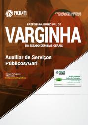 Apostila Prefeitura de Varginha - MG - Auxiliar de Serviços Públicos/Gari