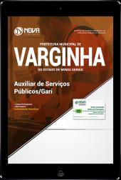 Download Apostila Prefeitura de Varginha - MG - Auxiliar de Serviços Públicos/Gari (PDF)