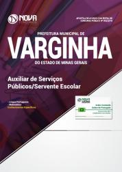 Apostila Prefeitura de Varginha - MG - Auxiliar de Serviços Públicos/Servente Escolar