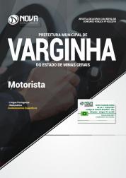Apostila Prefeitura de Varginha - MG - Motorista