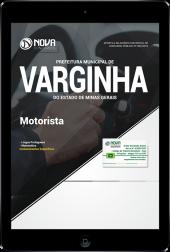 Download Apostila Prefeitura de Varginha - MG - Motorista (PDF)