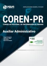 Apostila COREN-PR - Auxiliar Administrativo