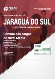 Apostila Prefeitura de Jaraguá do Sul - SC - Comum aos Cargos de Nível Médio