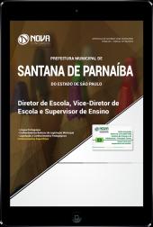 Download Apostila Prefeitura de Santana de Parnaíba - SP - Diretor de Escola, Vice-Diretor e Supervisor de Ensino (PDF)
