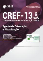 Apostila CREF-13º Região - Agente de Orientação e Fiscalização