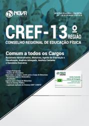 Download Apostila CREF-13º Região - Comum a Todos os Cargos (PDF)