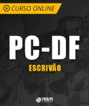 Curso Online PC-DF 2019 - Escrivão