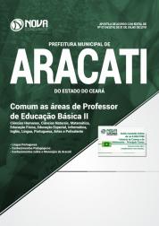 Download Apostila Prefeitura de Aracati - CE - Comum as Áreas de Professor de Educação Básica II (PDF)