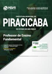 Apostila Prefeitura de Piracicaba - SP - Professor de Ensino Fundamental