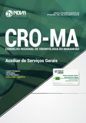 Download Apostila CRO-MA - Auxiliar de Serviços Gerais (PDF)