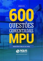 Download e-book de Questões Comentadas MPU 2018 - Técnico e Analista (PDF)