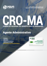 Apostila CRO-MA - Agente Administrativo