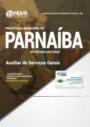 Apostila Prefeitura de Parnaíba - PI - Auxiliar de Serviços Gerais