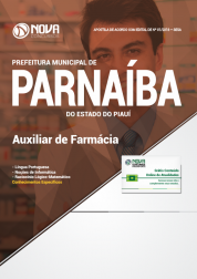 Apostila Prefeitura de Parnaíba - PI - Auxiliar de Farmácia