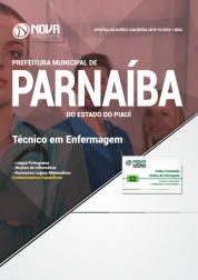 Apostila Prefeitura de Parnaíba - PI - Técnico em Enfermagem