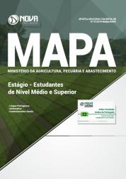Download Apostila MAPA - Estágio - Estudantes de Nível Médio e Superior (PDF)