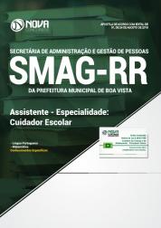 Download Apostila Prefeitura de Boa Vista - RR (SMAG) - Assistente - Especialidade: Cuidador Escolar (PDF)