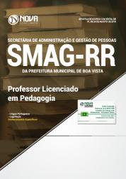 Apostila Prefeitura de Boa Vista - RR (SMAG) - Professor Licenciado em Pedagogia