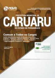 Apostila Prefeitura de Caruaru - PE - Comum aos Cargos de Nível Médio e Superior
