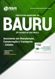 Apostila Prefeitura de Bauru - SP - Assistente em Manutenção, Conservação e Transporte - Zelador