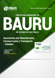 Download Apostila Prefeitura de Bauru - SP - Assistente em Manutenção, Conservação e Transporte - Zelador (PDF)