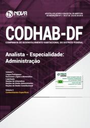 Download Apostila CODHAB-DF - Analista - Especialidade: Administração (PDF)
