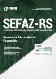 Download Apostila SEFAZ-RS - Assistente Administrativo Fazendário (PDF)