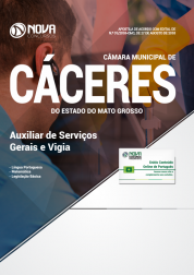 Download Apostila Câmara de Cáceres - MT - Auxiliar de Serviços Gerais e Vigia (PDF)
