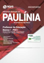 Apostila Prefeitura de Paulínia - SP - Professor de Educação Básica I