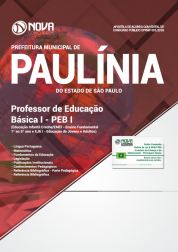 Download Apostila Prefeitura de Paulínia - SP - Professor de Educação Básica I (PDF)