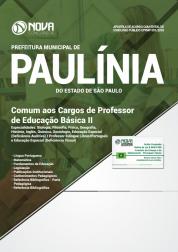 Download Apostila Prefeitura de Paulínia - SP - Comum aos Cargos de PEB II (PDF)