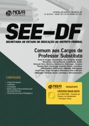Download Apostila SEE-DF - Comum aos Cargos de Professor Substituto (PDF)