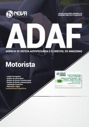 Apostila ADAF-AM - Motorista