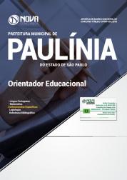 Download Apostila Prefeitura de Paulínia - SP - Orientador Educacional (PDF)