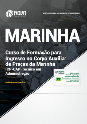 Download Apostila Marinha do Brasil - Corpo Auxiliar de Praças - Técnico em Administração (PDF)