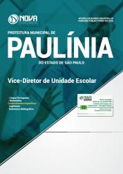 Apostila Prefeitura de Paulínia - SP - Vice-Diretor de Unidade Escolar