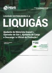 Apostila Liquigás - Ajudante de Motorista Granel I, Operador(a) de Gás I, Ajudante de Carga e Descarga I e Oficial de Produção I
