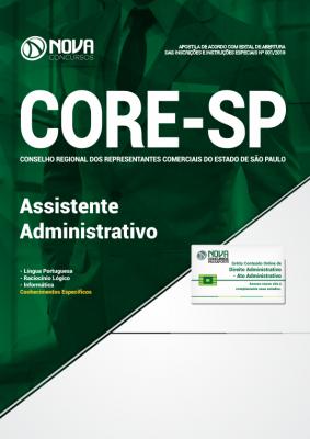 Apostila CORE-SP - Assistente Administrativo