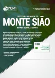 Apostila Prefeitura de Monte Sião - MG - Comum aos Cargos de Nível Fundamental (Completo e Incompleto)