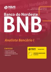 Download Apostila BNB - Banco do Nordeste do Brasil - Analista Bancário 1 (PDF)