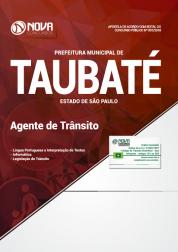 Download Apostila Prefeitura de Taubaté - SP - Agente de Trânsito (PDF)