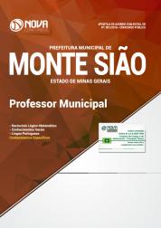 Apostila Prefeitura de Monte Sião - MG - Professor Municipal