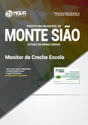 Apostila Prefeitura de Monte Sião - MG - Monitor de Creche Escola