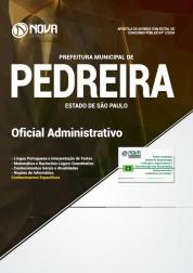 Download Apostila Prefeitura de Pedreira - SP - Oficial Administrativo (PDF)