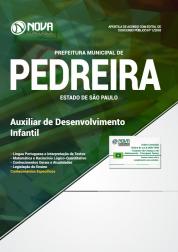 Apostila Prefeitura de Pedreira - SP - Auxiliar de Desenvolvimento Infantil