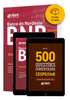 Combo BNB - Banco do Nordeste do Brasil - Analista Bancário 1 (Frete Grátis)