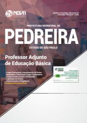Download Apostila Prefeitura de Pedreira - SP - Professor Adjunto de Educação Básica (PDF)