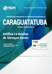 Apostila Prefeitura de Caraguatatuba - SP - Artífice I e Auxiliar de Serviços Gerais
