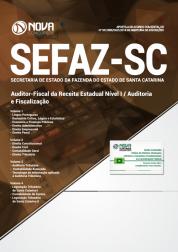 Apostila SEFAZ-SC - Auditor-Fiscal da Receita Estadual Nível I / Auditoria e Fiscalização